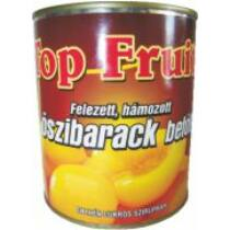 .Top Fruit Öszibarack befött, hámozott, felezett 820g/470g