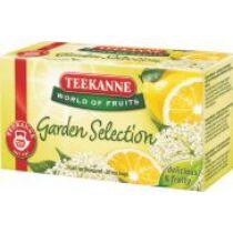 Teekanne 45g gyümölcstea Garden Selection bodzavirág-citrom