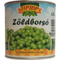 .TIPTOP Zöldborsó 425ml osztályozatlan 420g/270g