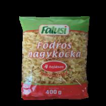 Falusi tészta 4tojásos fodros nagykocka 400g