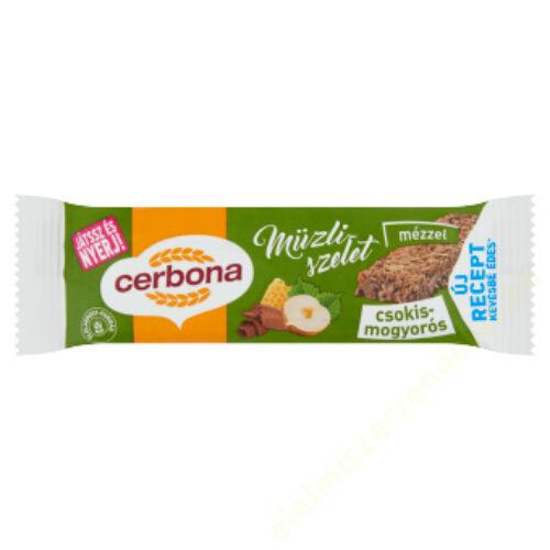 Cerbona müzliszelet 20g Csokis-mogyorós