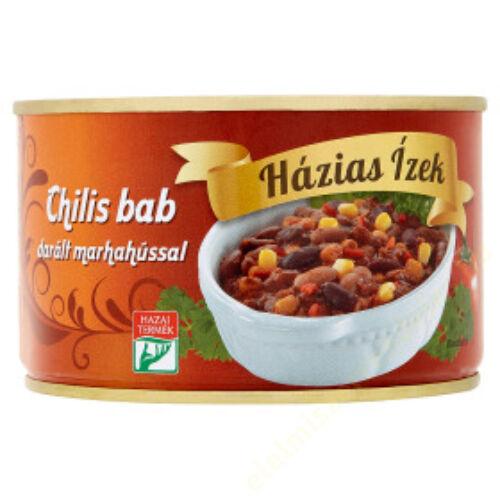 Szegedi Chilis bab darált marhahússal 400g