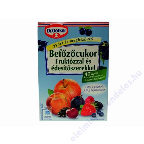 Dr.Oetker Befözöcukor Fruktózzal 350g