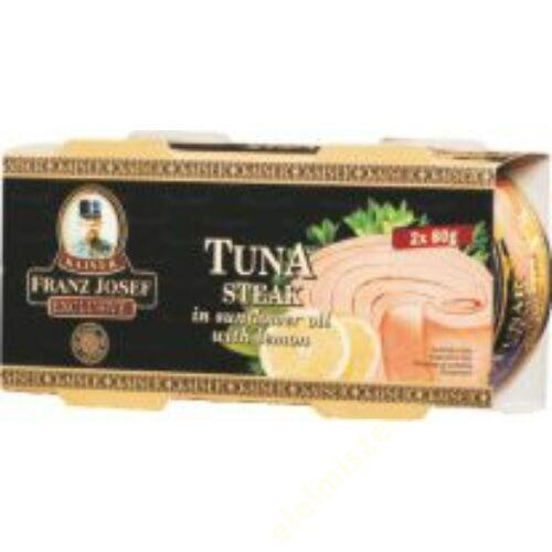 FJK Tonhal steak olajban citrom íz 2x80g