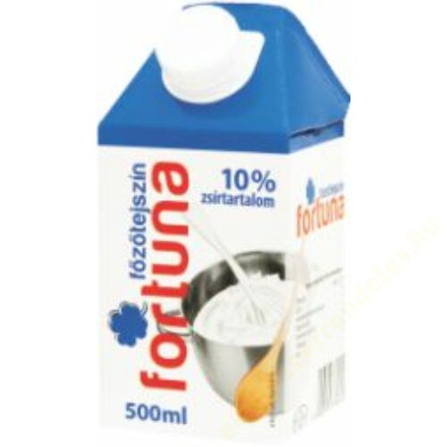 Fortuna főzőtejszín UHT 10% 0,5l