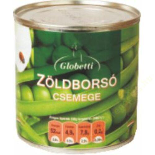 Globetti Zöldborsó csemege 420g/270g