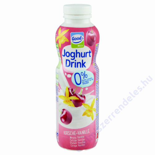Good Milk joghurtital 500g vanilia-meggy