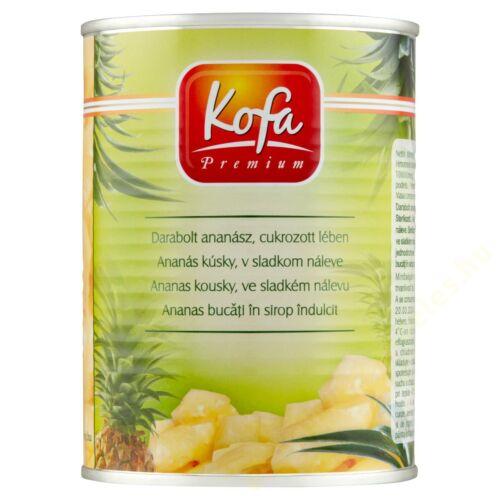 .Kofa ananász darabolt 565g Point Marketing
