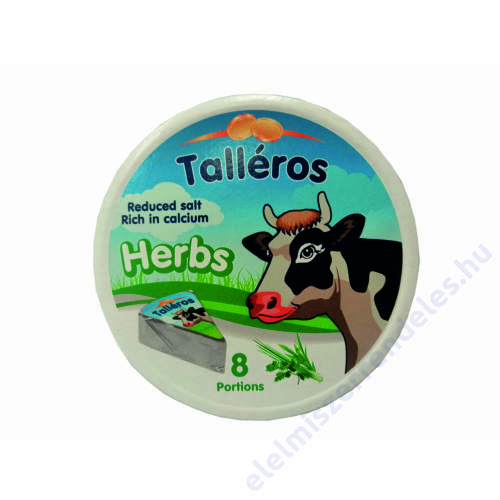 Kõrösi talléros sajt 140g zöldfûszeres