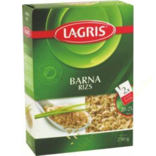 .Lagris Barna rizs 250g (2x125g) fözötasakos 16/#