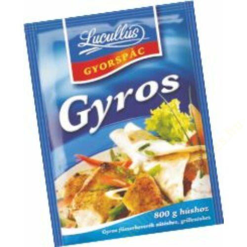 Lucullus gyorspác 30g Gyros  20db/#
