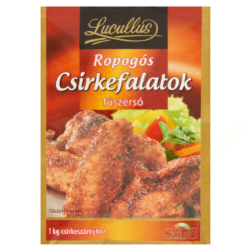 Lucullus Ropogós csirkefalatok füszersó 40g  20/#