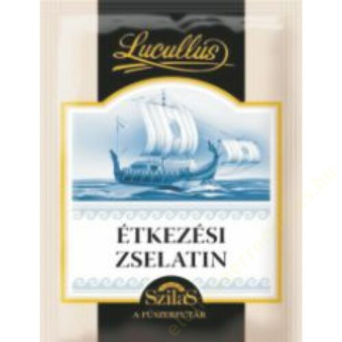 Lucullus zselatin 15g  20db/#
