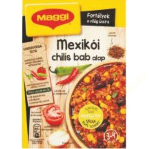 Maggi mexikói chilis bab alap 45g