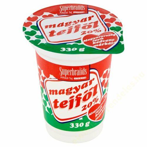 Magyar tejföl 20% 330g Alföldi *