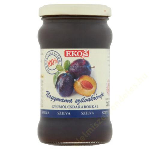 Eko Nagymama lekvár 320g szilva gyümölcsdarabokkal