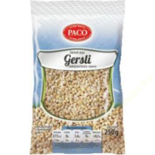 .PACO Gersli (Hántolt árpa) 250g  30db/#