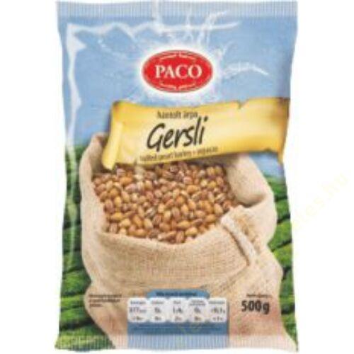 .PACO Gersli (Hántolt árpa) 500g  20db/#