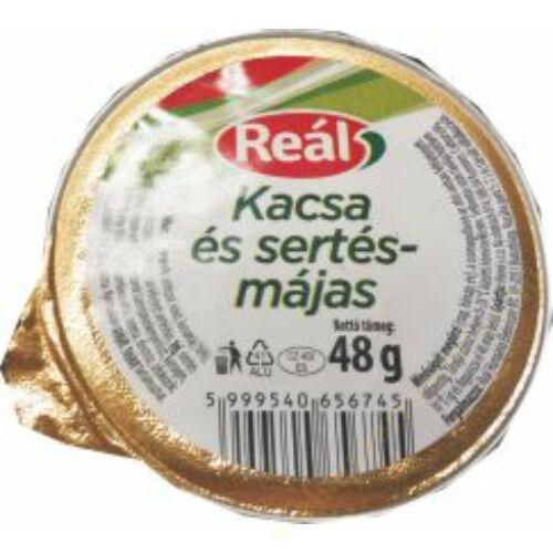 Reál Kacsa és sertésmájas 48g
