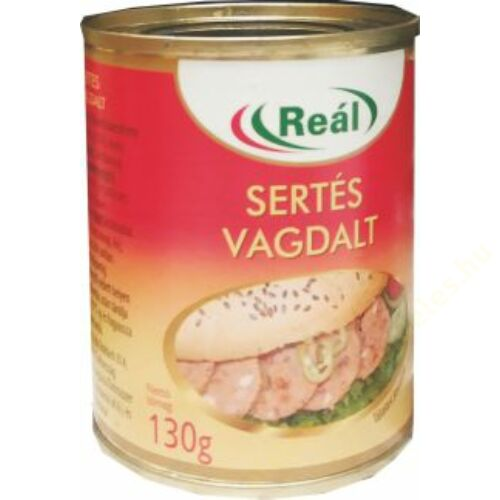 Reál Sertés vagdalt 130g  4200db/rkl.