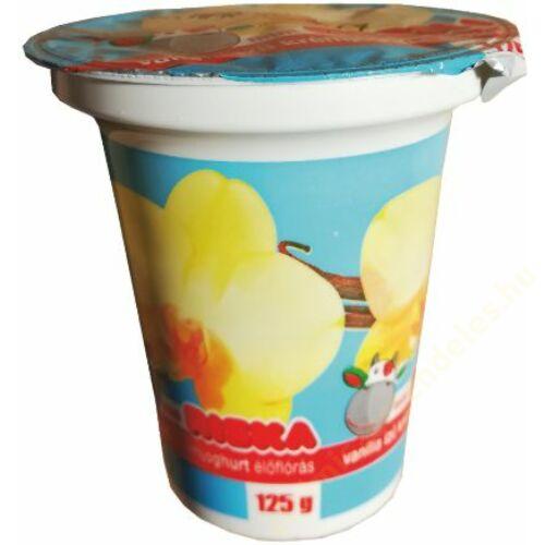 Riska krémjoghurt 125g vanília
