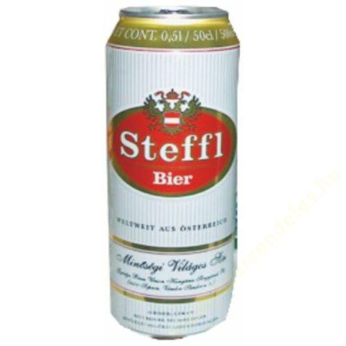 .Steffl sör 0.5l dobozos (4.2%)