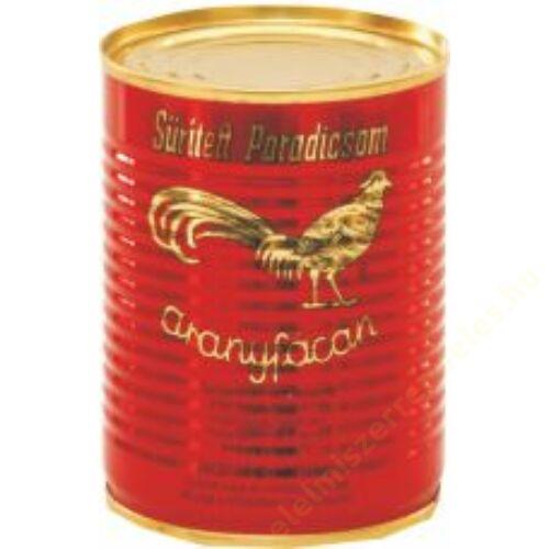 Aranyfácán sürített paradicsom 425g 28-30% 1/2D