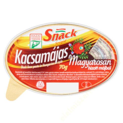 Szegedi Snack 70g Kacsamájas magyarosan