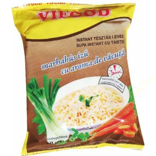 .Vifood instant leves 60g Marhahús ízű