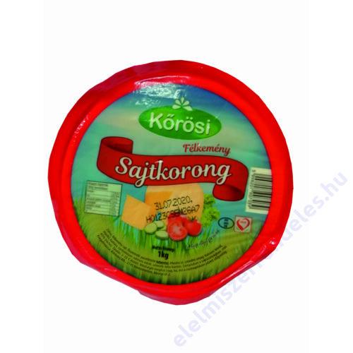 Kőrösi félkemény sajt 1kg