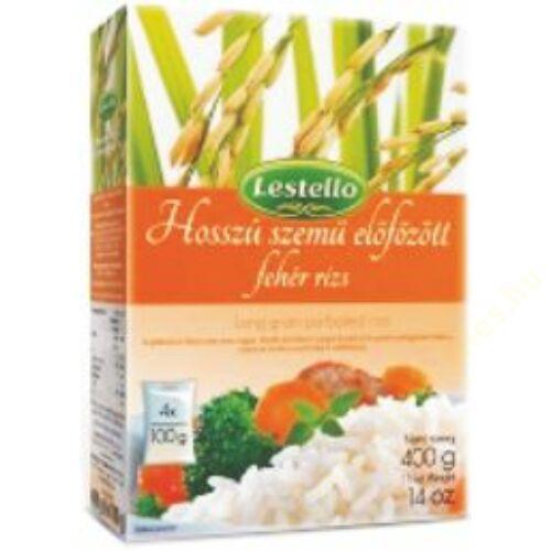 Lestello előfőzött hosszú szemű rizs 4x100g
