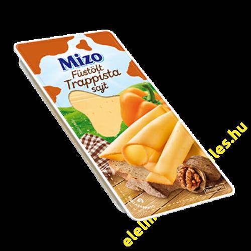 Mizo Trappista sajt füstölt 125g szeletelt