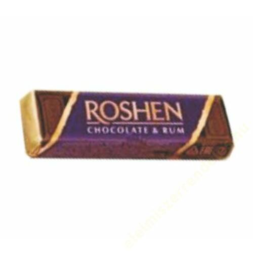 Roshen 43g rumos étcsokoládé szelet