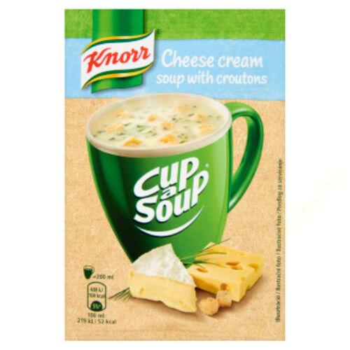 Knorr Instant Sajtkrémleves 22g