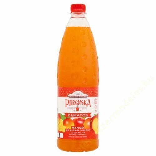 .Piroska zamatos mangó izü gyümölcsszörp 1l