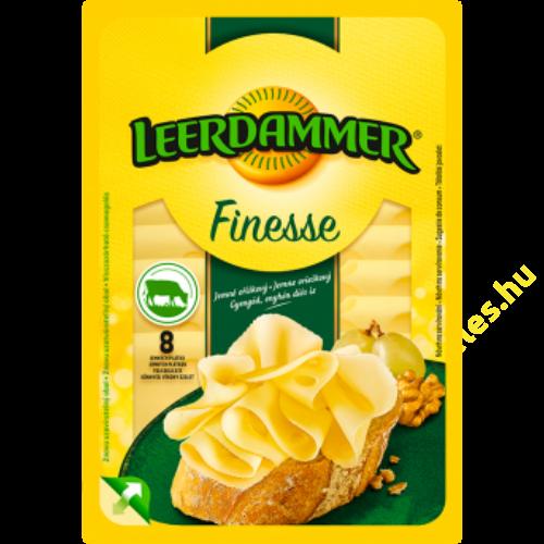 Leerdammer Finesse Original szeletelt sajt 80g 45%