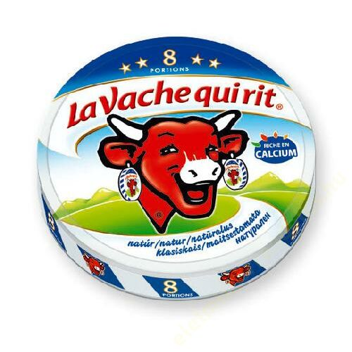 La Vache ömlesztett sajt natúr 120g (8db)