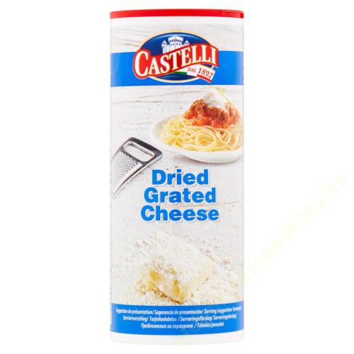 Castelli reszelt sajt 80g 32% szórófejes