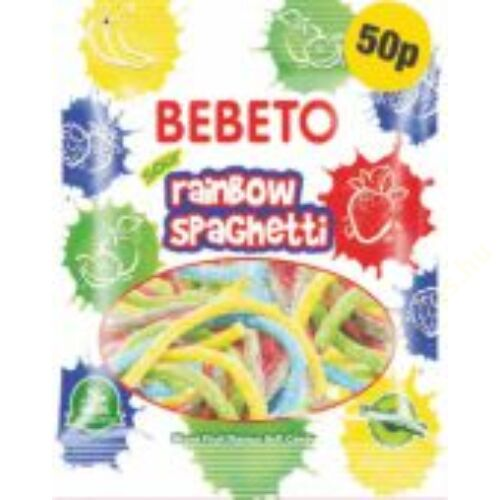 Bebeto gumicukor 80g Spagetti Rainbow