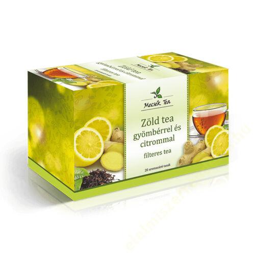 .Mecsek zöld tea gyömbérrel és citrommal 20x2g