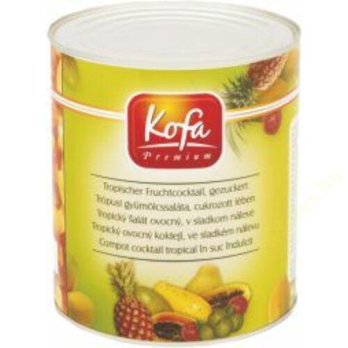 .Kofa Trópusi gyümölcs saláta cukrozott lében 3100ml