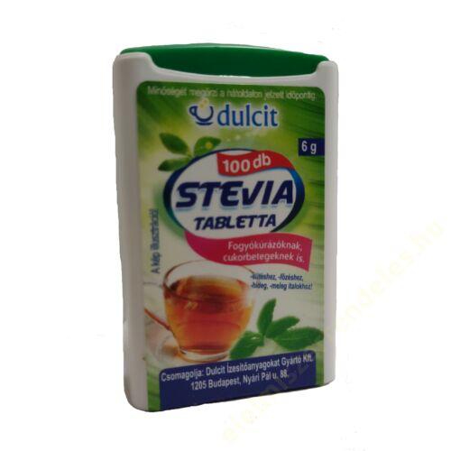 Stevia tabletta 100db-os 6g
