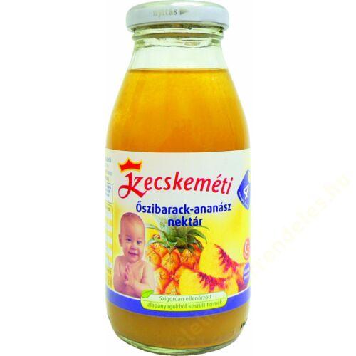 Ajándék KK.bébiital Öszibarack-Ananász 200ml/4dbKecskeméti b.étel-italhoz