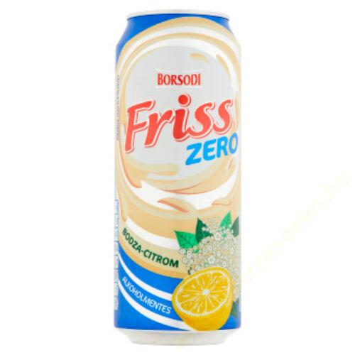 Ajándék Borsodi Bodza-Citr.alk.ment.dob.sör 0,5l/4borsodi vil.dob0,5l-hez