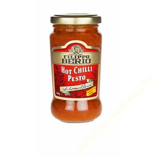 Filippo Berio Pesto 190g csípös chilis