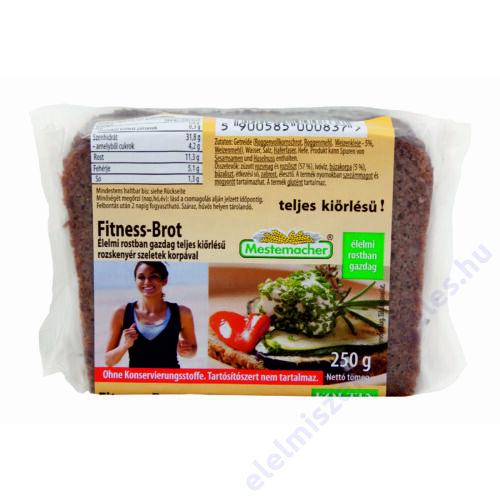 Benus kenyér 250g fitness korpás szeletelt