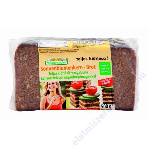 Benus kenyér 500g napraforgómagos