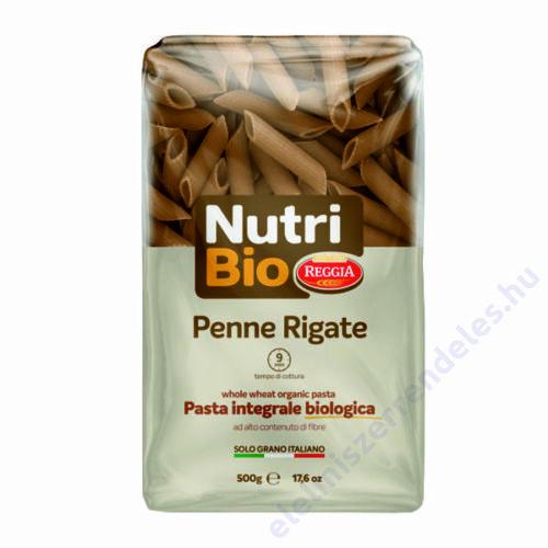 Reggia Nutri Bio tészta 500g penne teljes kiörlésü durum
