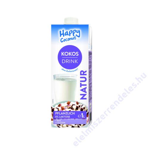 Happy kókusz-rizs ital 1l kalciummal UHT