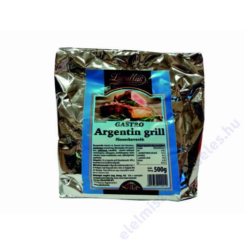 Lucullus GASTRO argentín grill füszerkeverék 500g
